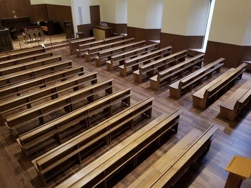 日本の広葉樹家具 ぶな材長椅子 7