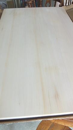 天然木曽桧柾目天板 2
