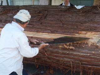 木挽き 4