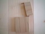 金具不使用神代桧木製名刺ケース