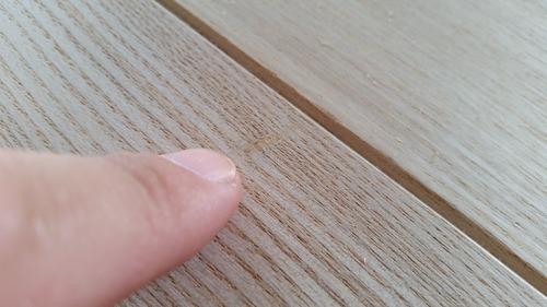 清涼たも(せいりょうたも)柾目幅広無垢一枚物フローリング1