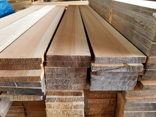 高樹齢! 百年杉柾浮造りフローリングの原板!