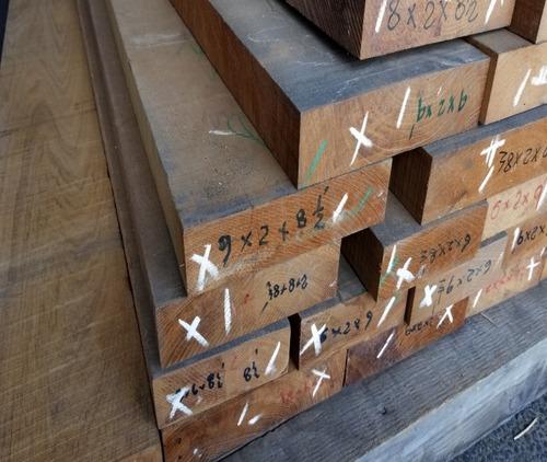 ミャンマーチーク(ビルマチーク)在庫挽き材