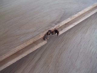 カスクオーク幅広無垢フローリング Vネイキッドグレード12