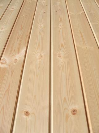 北洋赤松(レッドパイン)無垢一枚物羽目板 2
