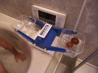 お風呂で本物のさくらんぼ3