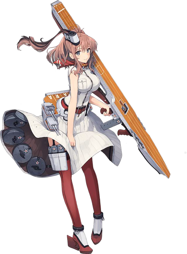艦これ』米大型正規空母サラトガ(Saratoga)&神風型駆逐艦2番艦 ...