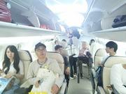 MRJの機内…のモックアップ