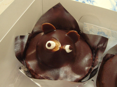 タヌキケーキ1