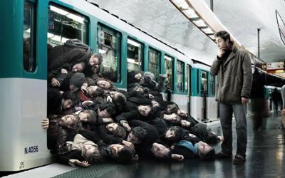 満員電車2