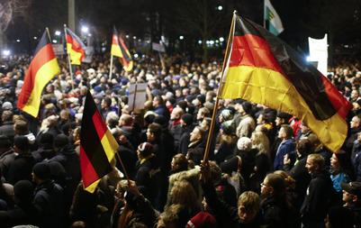 ドイツデモ