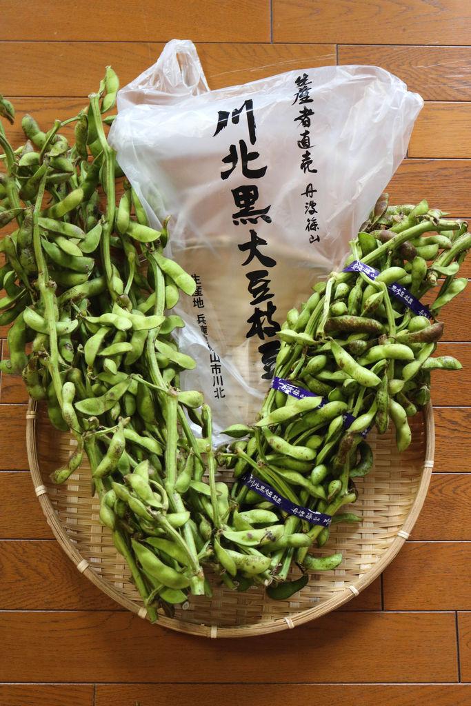 レシピ丹波黒豆の枝豆の炊き込みご飯今年の枝豆