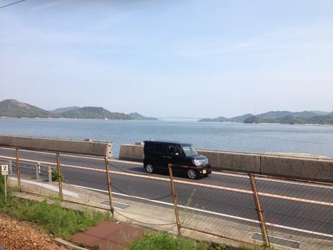 広島の車窓から