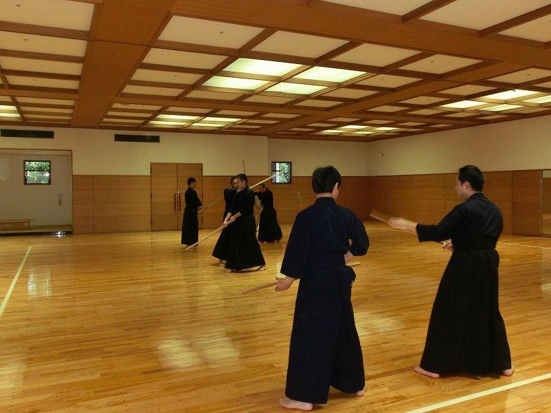 本日の稽古 : 神道無念流剣術埼玉支部