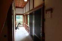 越後長野温泉「嵐渓荘」・千草入り口