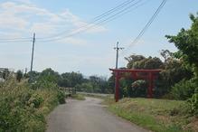 亀の甲温泉・鳥居