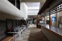 越後の里親鸞聖人総合会館西方の湯・カウンター