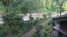 越後長野温泉「嵐渓荘」・部屋からの景色1