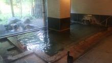 越後長野温泉「嵐渓荘」・浴槽