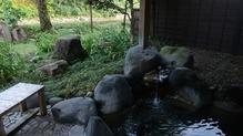 越後長野温泉「嵐渓荘」・露天