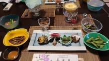 越後長野温泉「嵐渓荘」・前菜