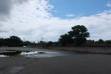 越後の里親鸞聖人総合会館西方の湯・広い駐車場