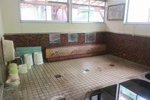 吉松温泉「原口温泉」・洗い場