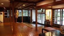 越後長野温泉「嵐渓荘」・玄関
