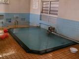 「野沢温泉」十王堂の湯の浴槽