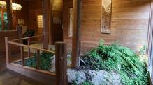 越後長野温泉「嵐渓荘」・踊り場