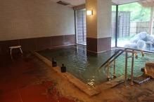 越後長野温泉「嵐渓荘」・女湯浴槽