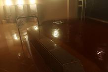 成田ビューホテル・成田温泉「美湯」・内湯の色