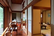 越後長野温泉「嵐渓荘」・廊下