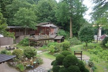越後長野温泉「嵐渓荘」・部屋からの景色3