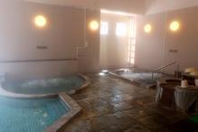 大白川温泉「しらみずの湯」・泡湯と寝湯
