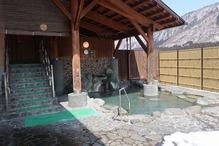 大白川温泉「しらみずの湯」・露天