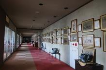 越後の里親鸞聖人総合会館西方の湯・明るい廊下