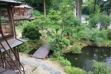 越後長野温泉「嵐渓荘」・部屋からの景色2