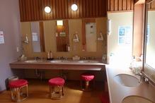 大白川温泉「しらみずの湯」・化粧室