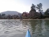 満水の琵琶湖