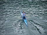 今年はターンで給水して、楽しく自然を感じて漕ぐことを意識しました。