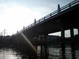 朝日の唐橋