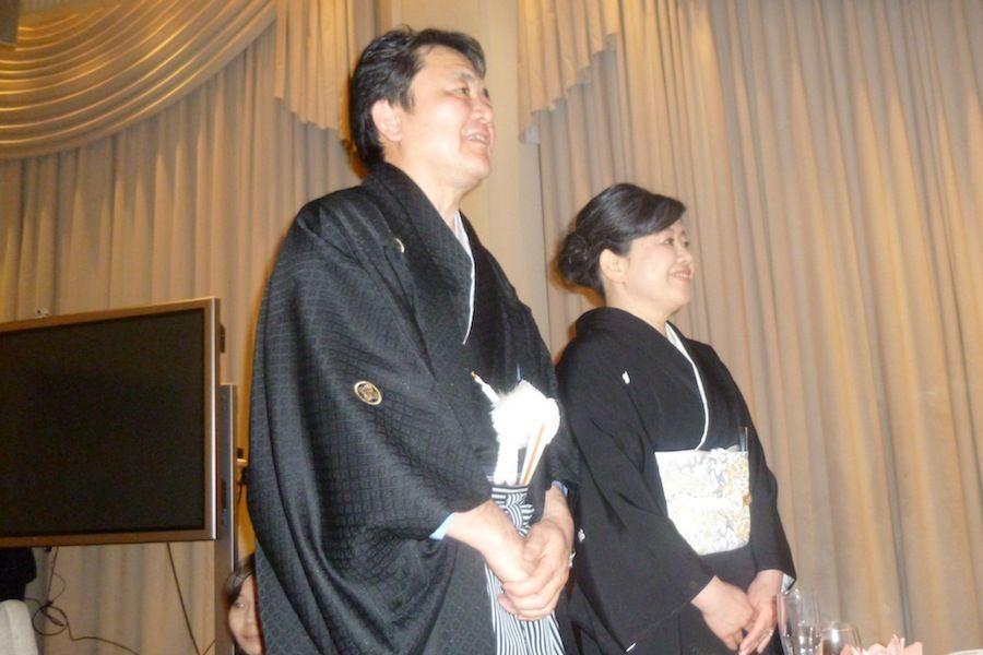 羽織袴に留袖