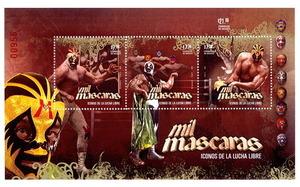 マスカラス 切手
