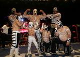 メキシコトリオ王者とちびっ子達