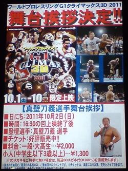 ワールドプロレスリング G1クライマックス3D 2011