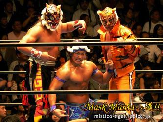 タイガーマスク(4代目) ウルティモ・ゲレーロ CIMA