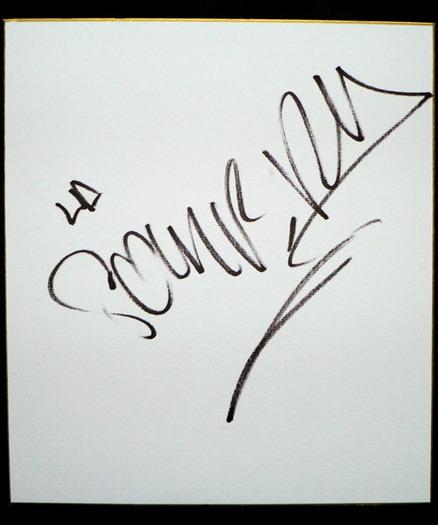 ラ・ソンブラ サイン