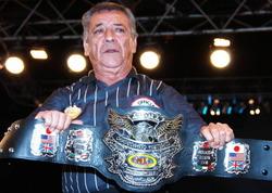新NWA世界ライトヘビー級チャンピオンベルト