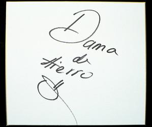 ダマ・デ・イエロ サイン